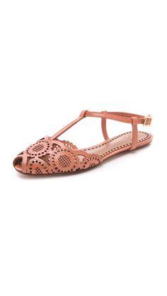 Tory Burch Alexa Flat Sandals