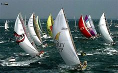 whitbread round the world yacht race | Volvo Ocean Race: colourful history of round-the-world race, in ...