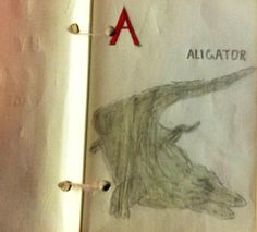 A is for Aligator via @DesignMuseum