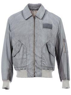 Maison Martin Margiela - contrast bomber jacket