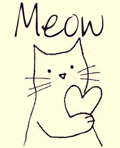 .That's all it takes to steal your heart. One little sound. Meow!
