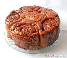 Romanian Food, Romanian Recipes, Pastry Cake, Dessert Recipes, Desserts, Fudge, Caramel, Sweet Treats, Muffin