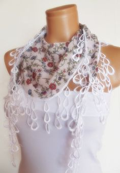2012 summer fashion cotton scarf new design by smilingpoet on Etsy, $12.90