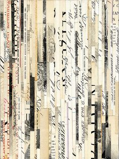 paper collage by valerie roybal I like the idea of using different types of paper and not 1 certain type of paper used different ways...