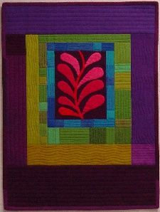 "Fragment quilt, 18x 24"", in: Quilts from Amish-Inspired Quilts at Piece o' Cake Designs."