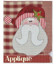 Cartamodello Applicazione Babbo Natale