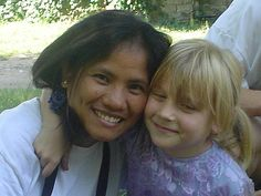 with natasha...natasha is the little girl that was not allowed to join the kids camp last year 'coz of her skin disease...     Your complete Resource to Car, Tent and RV Camping!
