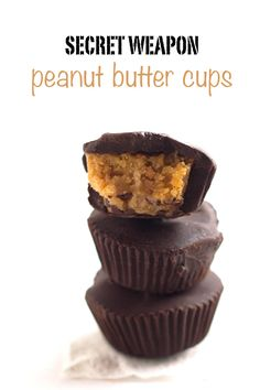 These vegan peanut butter cups are so good you would never believe that they have a secret ingredient that makes them healthy. The secret weapon? Chickpeas!