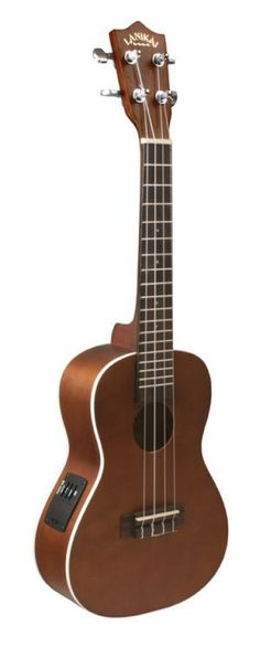 Lanikai LU-21CE Concert Acoustic-Electric Ukulele 048667403963 | eBay