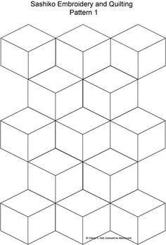 Resultado de imagem para sashiko patterns free download