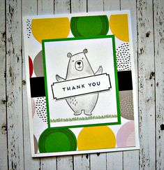 Jack CTMH cardmaking stamp set | CAS cards | thank you cards | Close To My Heart | masculine cards