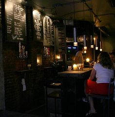 The Room, 144 Sullivan St., if in lower NYC and need a calm bar with great beverages and music http://nymag.com/listings/bar/the_room/