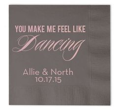 You Make Me Feel Like Dancing  Wedding Party by GraciousBridal, $36.00