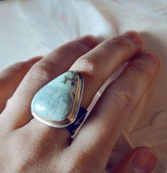Apache Turquoise Ring / TheStrayArrow