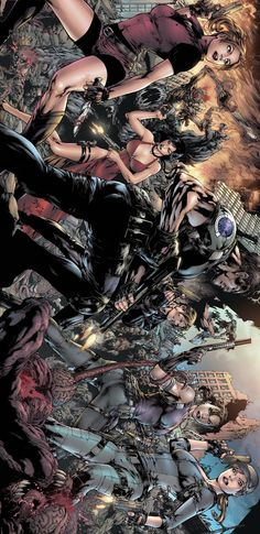 Pin Up Resident Evil by Ed Benes
