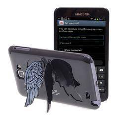 Galaxy Note angel wings stand case $5.68