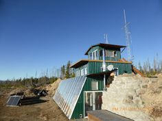 Earthship Home, Alternative, Homes, Cabin, House Styles, Building, Home Decor, Houses, Decoration Home