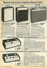 VintAxe.com Vintage Guitars - Vintage Japanese Catalogs - Lafayette-Kawai - 1973