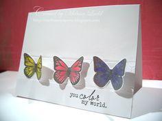 Ticket Die behind butterflies