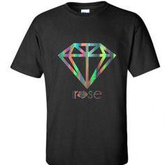 """5th Avenue Diamond"" Oversized T-Shirt (Holographic)"