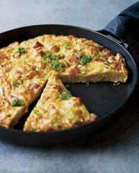 Ham and Potato Chip Tortilla Recipe on Food & Wine