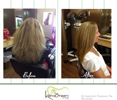 Move over, frizz! Check out this awesome Before & After from Liann Gerle Thompson from The Hair Studio in Odessa, FL!