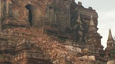 Video shows Myanmar Buddhist temples damaged by earthquake Image: Twitter/David Greco/daveinosaka via Storyful  By Gianluca Mezzofiore2016-08-24 14:22:17 UTC  A 6.8-magnitude earthquake has struck the north-central region of Myanmar damaging ancient brick pagodas in the famed city of Bagan.  At least one person was killed in the quake which hit 25km (15.5miles) west of Chauk at a depth of 84km (52 miles) according to the U.S. Geological Survey.  While these deep earthquakes generally cause…