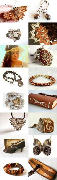 Brown Beauties! by Tina on Etsy--Pinned with TreasuryPin.com