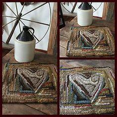A wonderful heart rug..~♥~