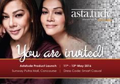 Astatude Product Launch Sunway Putra Mall 11-13 May 2016