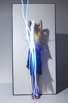 Corpus Electra | Lida Fox | Viviane Sassen #photography | Acne Paper 13 Spring/Summer 2012 #mixed_media #light_art