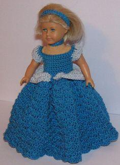 AG Mini crochet pattern  Princess by SweetSilverCreations on Etsy