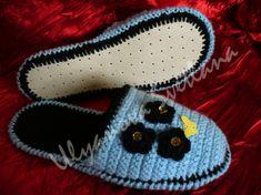 Тапочки крючком на любой вкус / Вязание крючком / Женская одежда крючком. Схемы.