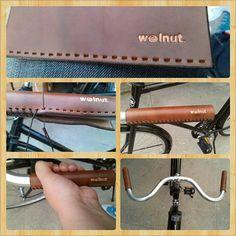 City Bike Grips by WalnutStudiolo on Etsy, $32.00