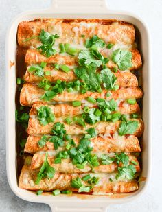 Our Favorite Lightened Up Beef Enchiladas with 10 Minute Enchilada Sauce by @Jan Howard sweet eats