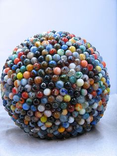 Marble Mosaic Bowling Ball