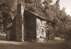 Old Log Cabin, Roanoke County, Virginia