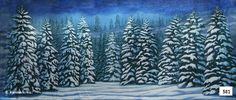 D581 Snow Forest