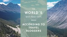 World's Best Road Trips - According to Travel Bloggers  ||  Wondering where to plan your next road trip? Check out this list of the World's Best Road Trips According to Travel Bloggers and learn about some popular as well as unique places to take a self-drive tour! https://www.theupbeatpath.com/blog/2017/11/8/world-best-road-trips-according-to-travel-bloggers?utm_campaign=crowdfire&utm_content=crowdfire&utm_medium=social&utm_source=pinterest