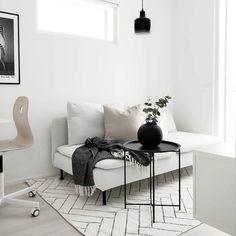 Minimalist decor · scandinavian home · dbe ( Modern Room Decor, Stylish Home Decor, Living Room Modern, Home And Living, Living Room Designs, Living Room Decor, Söderhamn Sofa, Home Interior, Interior Design