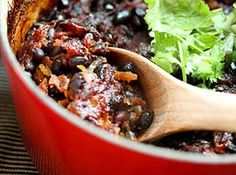 Baked Black Beans Recipe - KitchenDaily