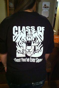 Senior shirt, but with '14