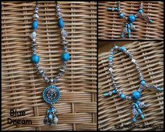 Blue Dream - necklace and bracelet