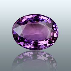 Violet sapphire #violet #sapphire did we mention it's violet? #sigh