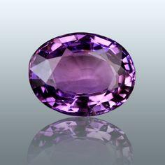 Violet sapphire #violet #sapphire did we mention it's violet? #sigh