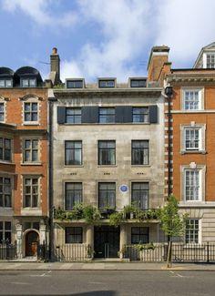 1930s art deco nine bedroom Marylebone Town House in Harley Street, London, W1G