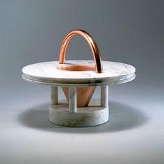 Ettore Sottsass. 'Gaya' bowl, 1983. H. 31.5 cm