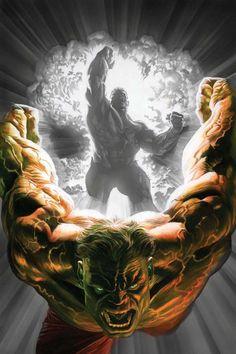 Immortal Hulk by Alex Ross Hulk Marvel, Marvel Fanart, Marvel Comics Superheroes, Hulk Comic, Marvel Dc Comics, Marvel Heroes, Hulk 1, Comics Universe, Marvel Cinematic Universe