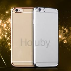 Electroplated TPU Back Case for iPhone 6 Plus/ 6S Plus - Gold