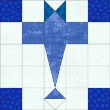airplane quilt block pattern